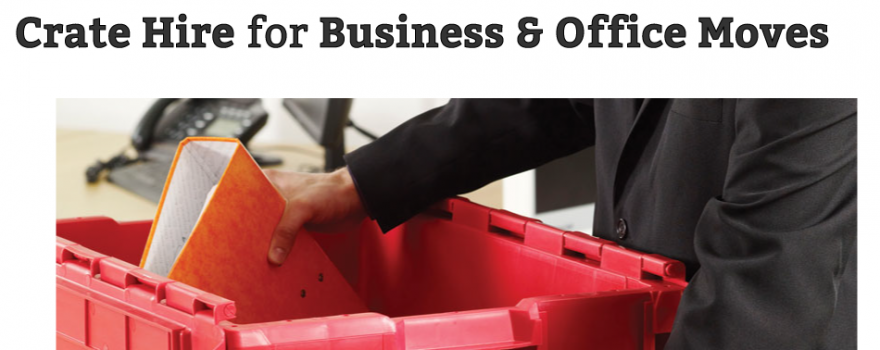 Crate Hire for Business