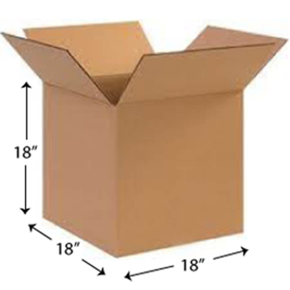 Measurements for New Square Cardboard Box